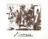 Cavalier en Armure Impressão colecionável por Pablo Picasso