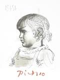 Portrait d'Enfant Sammlerdrucke von Pablo Picasso