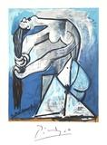 Ne Se Tordant les Chevaux Sammlerdrucke von Pablo Picasso