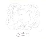 Etudes De Mains et Colombe Samlertryk af Pablo Picasso