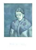 Buste de Femme Reproduction pour collectionneur par Pablo Picasso