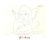Youri Gagarine Impressão colecionável por Pablo Picasso