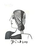 Tete Impressão colecionável por Pablo Picasso