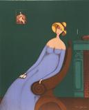 Woman with Book Særudgave af Branko Bahunek
