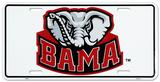 University of Alabama Elephant License Plate Blechschild