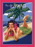 This is Hawaii Aloha Bikini Sexy Girl Blechschild