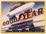 Goodyear Blimp Tin Sign