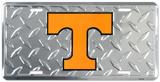 Tenessee Volunteers Diamond License Plate Carteles metálicos