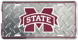 Mississippi State Diamond License Plate Carteles metálicos