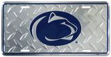 Penn State Diamond License Plate Tin Sign