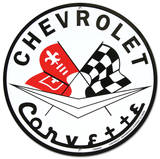 Corvette Plåtskylt