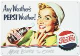 Pepsi Cola Any Weather Peltikyltti