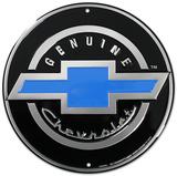 Genuine Chevrolet Chevy Round Blikkskilt