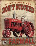 Farmall - Succeed Blechschild