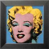 Marylin sur fond bleu, 1964 Posters par Andy Warhol