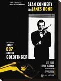 Goldfinger-Window Impressão em tela esticada