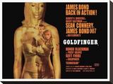 Goldfinger-Projection Impressão em tela esticada