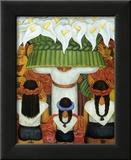 Flower Festival: Feast of Santa Anita, 1931 Prints by Diego Rivera