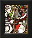 Jeune Fille Devant Un Miroir1932 Kunst von Pablo Picasso