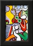 Stilleben mit Birnen und Trauben Kunstdrucke von Pablo Picasso