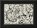 No. 14 (Gray) Poster by Jackson Pollock