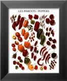 Paprika und Pfeffer Poster