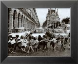 School Kids Lámina por Robert Doisneau