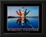Lavorare insieme, in inglese Poster