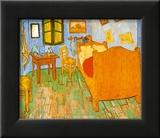 Schlafzimmer in arles  Schlafzimmer in Arles (van Gogh) Poster bei AllPosters.de