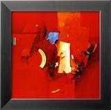 Fighting Blue Posters av Theo Den Boon