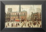 Coming Home from the Mill Posters by Laurence Stephen Lowry