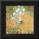 Flowery Garden Prints by Gustav Klimt