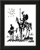 Don Quichot, ca. 1955 Posters van Pablo Picasso
