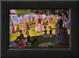A Sunday on La Grande Jatte 1884, 1884-86 Plakater av Georges Seurat