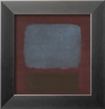 No. 37 / No. 19 (Slate Blue and Brown on Plum), 1958 Arte di Mark Rothko