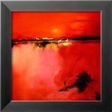 Orange Horizon Posters af Peter Wileman