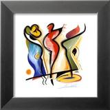 Dancing Prints by Alfred Gockel