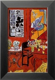 Large Red Interior, 1948 Posters by Henri Matisse