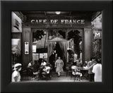 Café de France Affiches par Willy Ronis
