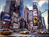 Times Square, cidade de Nova York, EUA Fotografia montada por Doug Pearson