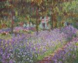 The Artist's Garden at Giverny Kunst von Claude Monet