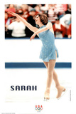 on Ice Olympics Poster af Sarah Hughes