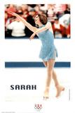 on Ice Olympics Poster von Sarah Hughes