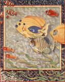 Exotic Tropical Fish no.  1 Prints by Richard Henson