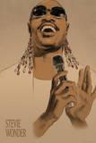 Stevie Wonder Affiches par Clifford Faust