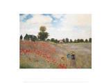 Vallmor Affischer av Claude Monet
