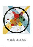 Cerchi nel cerchio Stampe di Wassily Kandinsky