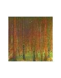 Tannenwald II Posters by Gustav Klimt