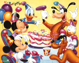 Mickey Mouse and Friends Birthday Party Póster