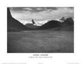 St Mary's Lake Glacier National Park アートポスター : アンセル・アダムス